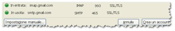 Server IMAP Google